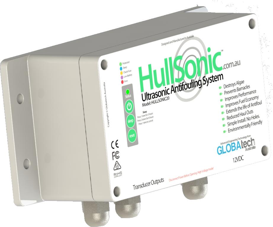 hullsonic ultrasonic antifouling mgps system control module