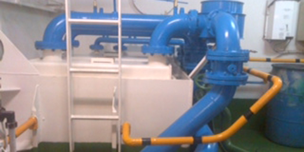 Marine Growth Protection systems with hullsonic for seachest and strainers