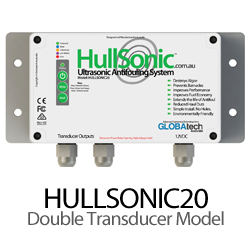HullSonic™ HULLSONIC20 - 2 Transducer Ultrasonic Antifouling System